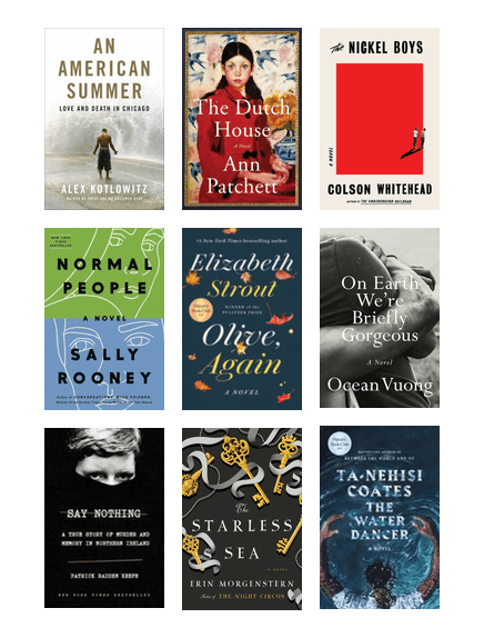 Best Books Of 2019 Top Ten Chicago Public Library Bibliocommons