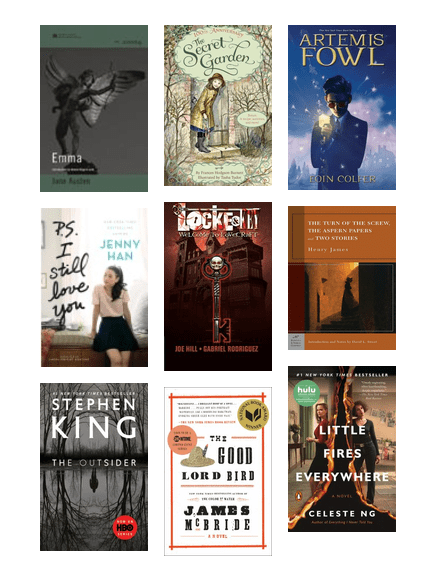 Page To Screen Winter And Spring 2020 King County Library System Bibliocommons
