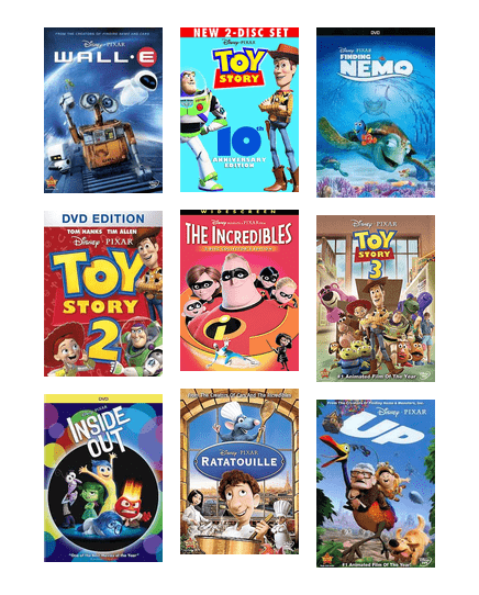 Ranking The Disney Pixar Animated Movies Las Vegas Clark County Library District Bibliocommons