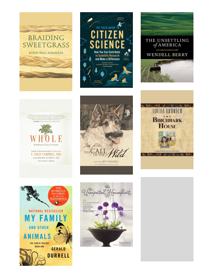 E Books And E Audiobooks For People Who Love Nature Washington County Cooperative Library Services Bibliocommons