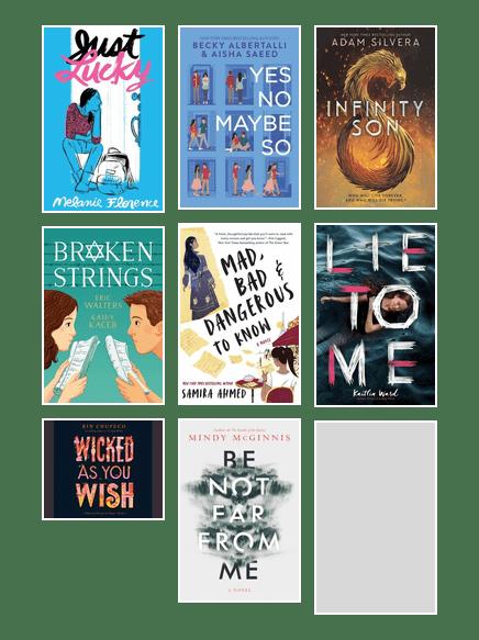 Summer Reading Challenge-New Teen Picks