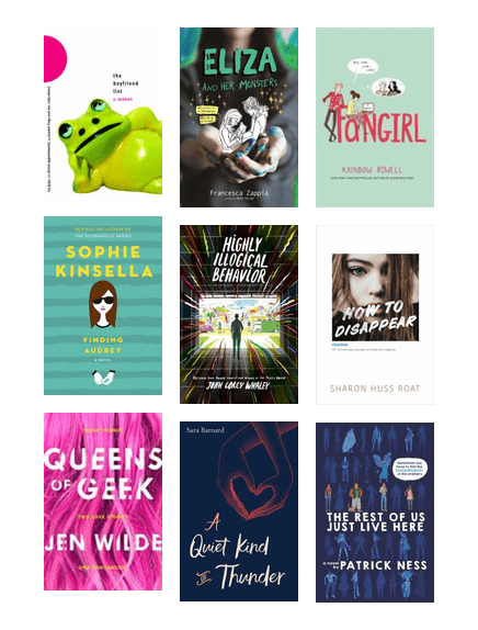 Anxiety In Ya Fiction Lawrence Public Library Bibliocommons