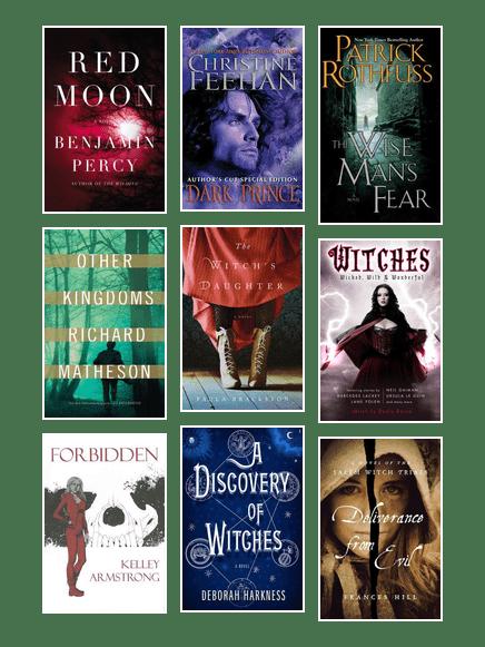 BostonPL_Supernatural Fiction: Vampires, Werewolves, Witches
