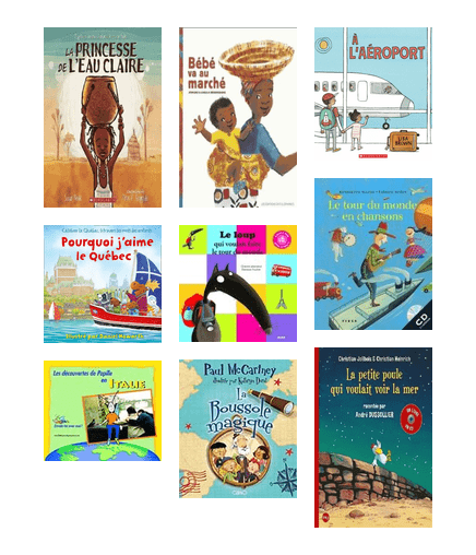 French picture book covers