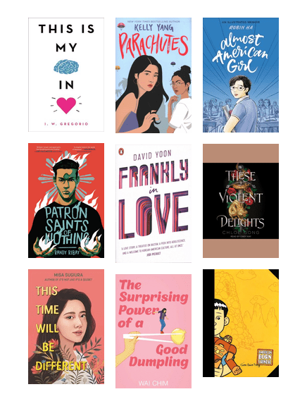 AAPI books for young adults