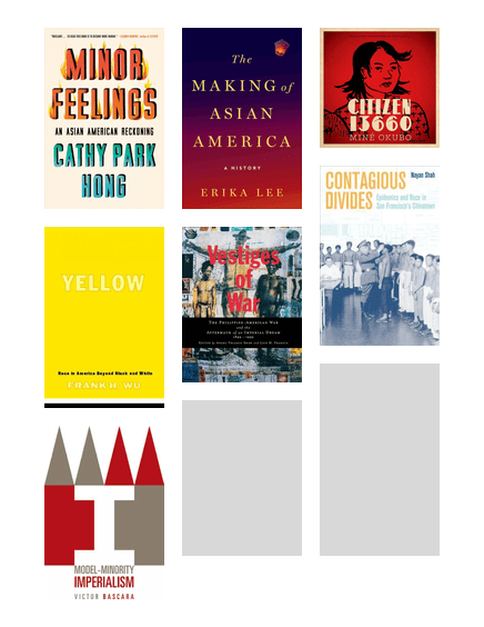 Collage of AAPI books