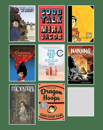 AAPI graphic novels