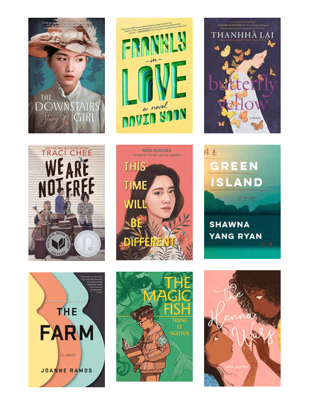 AAPI Titles for Teens
