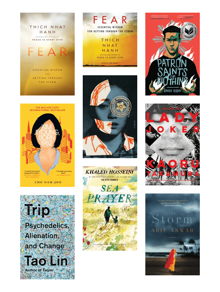 Asian Heritage Month - Adult-Fiction/Non-Fiction