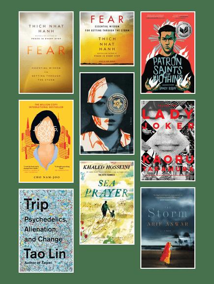 Asian Heritage Month - Adult-Fiction/Non-Fiction