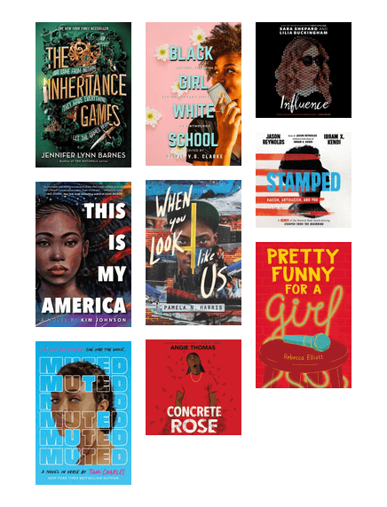 Teen Reading Suggestions