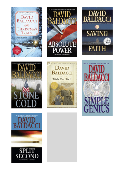 David Baldacci books | King County