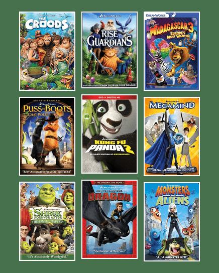 DreamWorks Animation Movies   Pima County Public Library