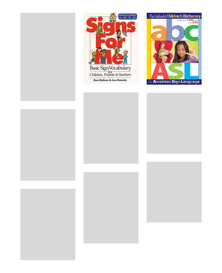 ASL-English Library Storytimes: Resources   Burnaby Public