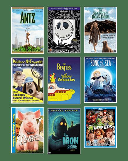 top 100 kids & family movies | Edmonton Public Library