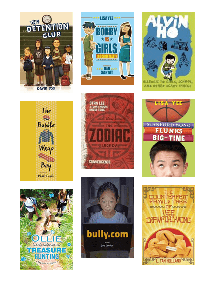 Contemporary Asian American Chapter Books W Male Leads The