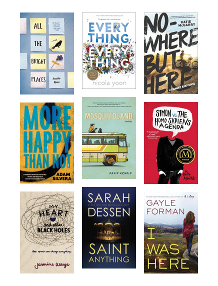 Best Goodreads Ya Fiction 2015 The Seattle Public Library Bibliocommons