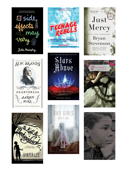 Fall 2016 Lms 8th Grade Book Club Reading Recommendations