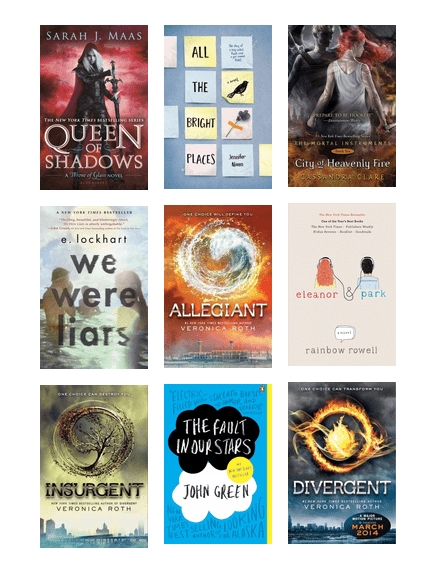 Goodreads Choice Awards For Young Adult Fiction Fantasy The Seattle Public Library Bibliocommons