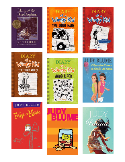 The Top 10 List Of Books 5th Graders Have To Read Pima County
