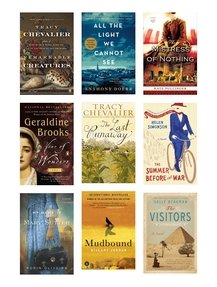 Historical Fiction with Strong Female Characters | Princeton Public