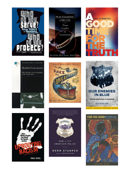 Covers of selected books on the reading list.