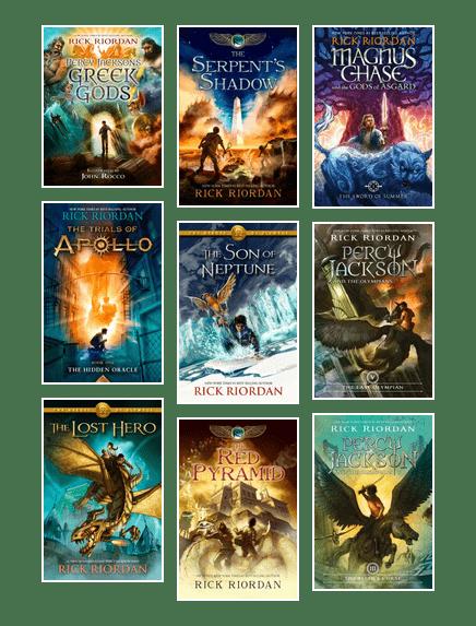 Top 10 Mythology books by Rick Riordan | Edmonton Public