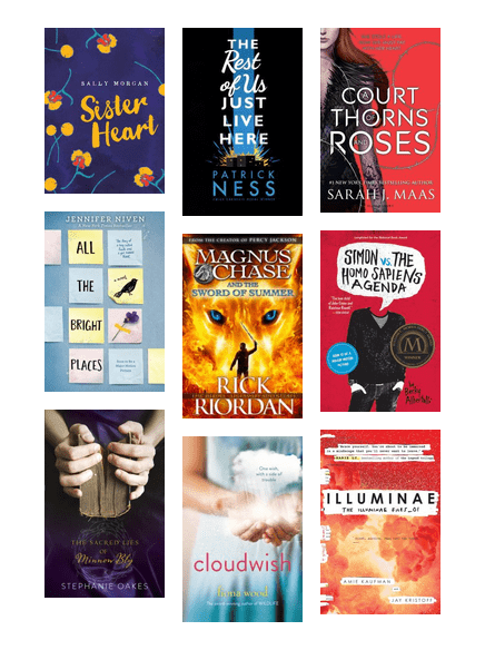 Inky Awards 2016 Teen Books Chicago Public Library Bibliocommons