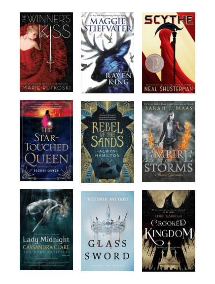 Were Recommended fantasy books for adults