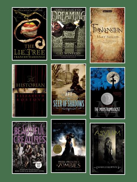 modern gothic fiction