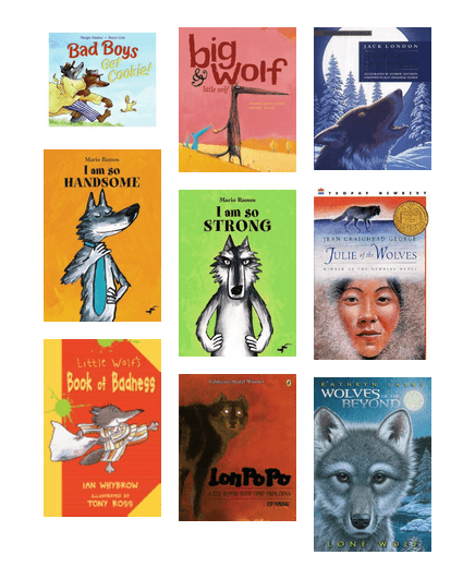 Crrl My Librarian Where Wolf Children S Books With Wolves Hennepin County Library Bibliocommons