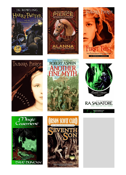 Samson's Suggestions: Top Fantasy Series   Chicago Public