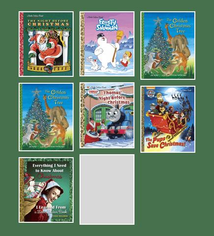 Pups Save Christmas Book.Christmas Little Golden Books Santa Clara County Library