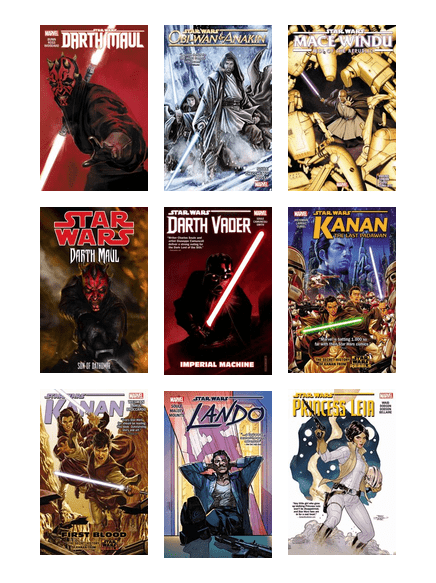 Vaughanpl Marvel Star Wars Canon Graphic Novels Reading Order Santa Clara County Library Bibliocommons