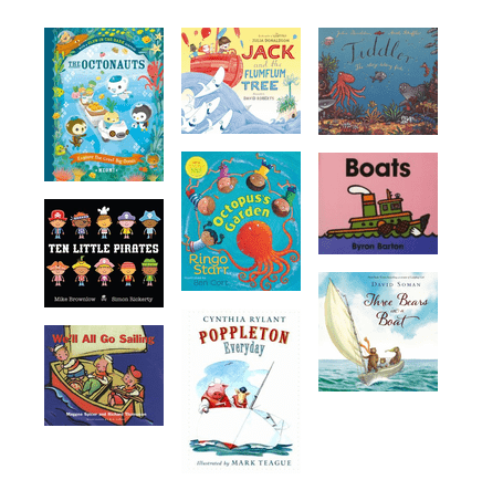 Boating Picture Books
