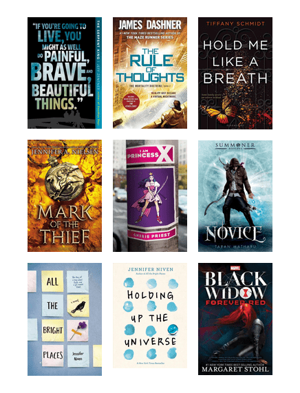 Wpl Teen Favourite Reads Of 2016 2017 San Francisco Public Library Bibliocommons