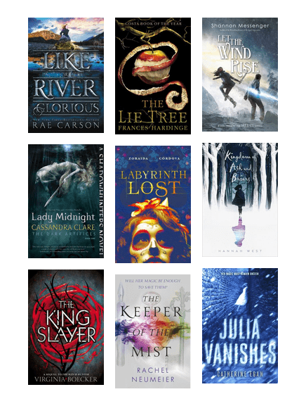 Young Adult Fantasy Of 2016 San Francisco Public Library