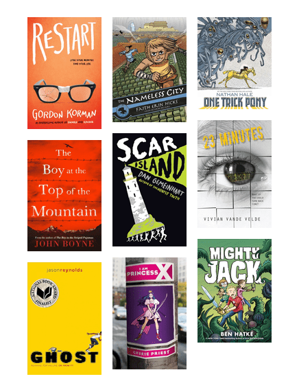 Great New Books For Reluctant 7th And 8th Grade Readers Austin